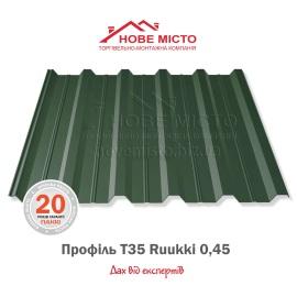 Металопрофіль Т35 Ruukki 0,45