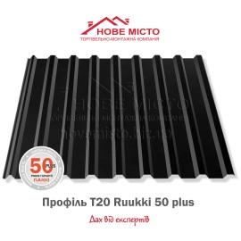 Металопрофіль T20 Ruukki 50 Plus 0,50
